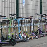 Un parking pour les Kickboards des écoliers du Faubourg